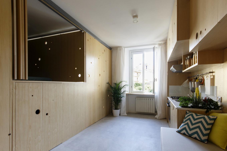 Квартира-трансформер в Италии