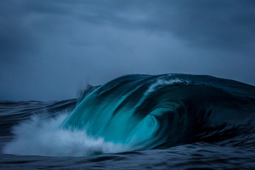 Морские волны от фотографа Мэтта Бургесса