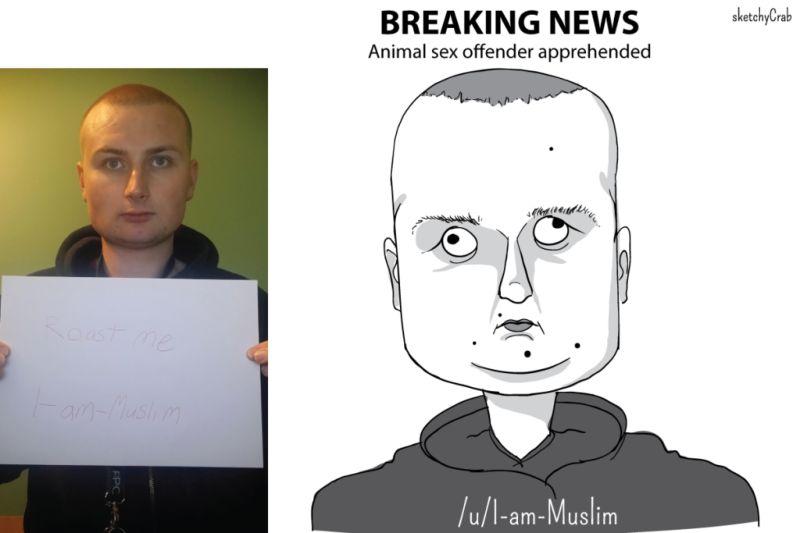 Они просили нарисовать карикатуру на себя и получили по заслугам