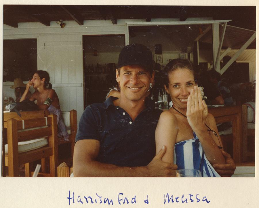 Полароидные снимки голливудских звёзд из личного фотоальбома Майкла Уайта