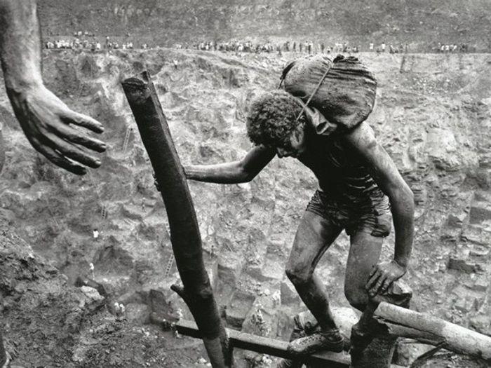 Золотая лихорадка на бразильском руднике Серра Пелада в 1986 году