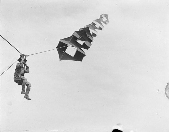 Воздушные змеи, как средство разведки в годы Первой мировой войны