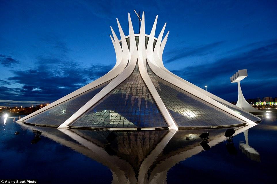 Постер известные архитектурные сооружения