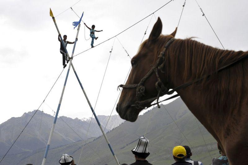 Всемирные игры кочевников в Кыргызстане