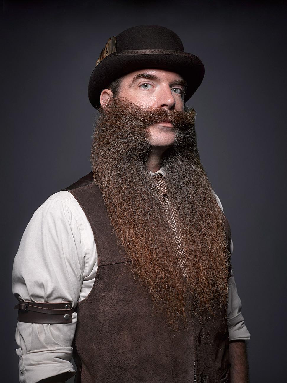 Харизматичные участники Национального чемпионата бороды и усов 2016