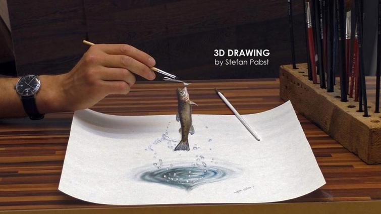 3D-рисунки, которые точно обманут ваш мозг