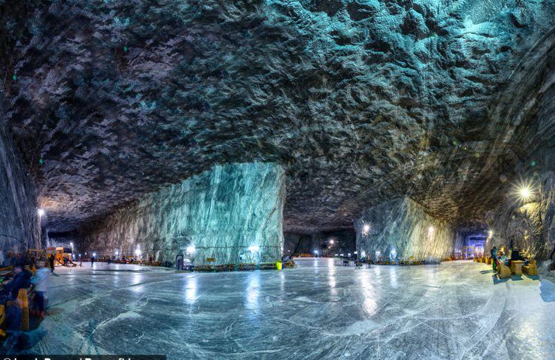 Оздоровительный центр в заброшенной соляной шахте