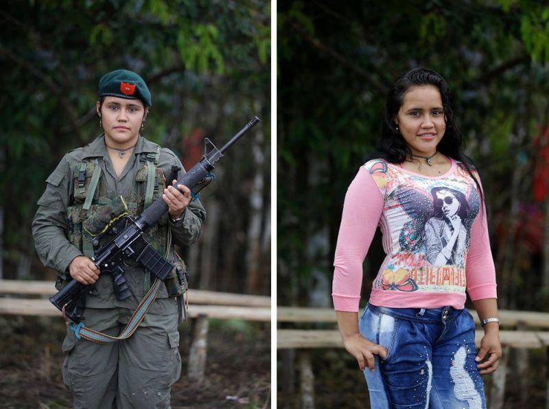 Девушки революционных сил Колумбии готовятся в мирной жизни