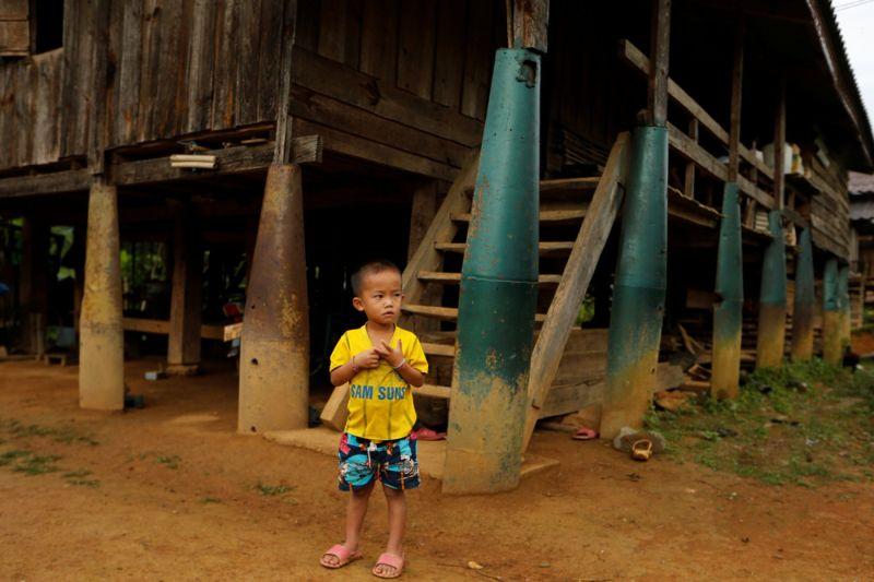 Богатое смертельное наследие войны в Лаосе