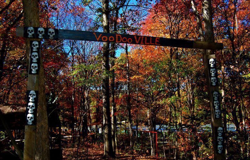 Заброшенный сказочный лес в Нью-Джерси