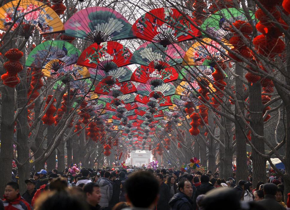 Фотографии о том, насколько много людей в Китае