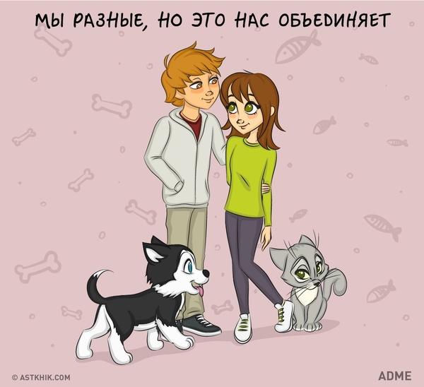 Кошка или собака в комиксах