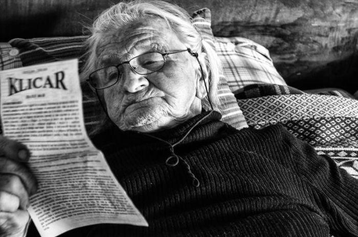 Один день из жизни пожилой фермерши