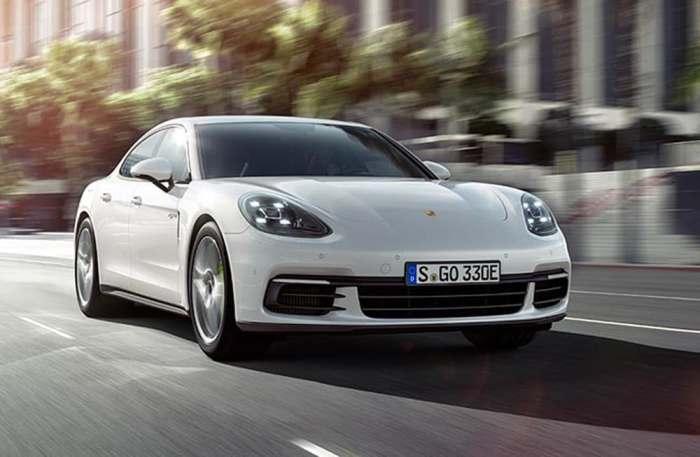 Зелёный гибрид от Porsche