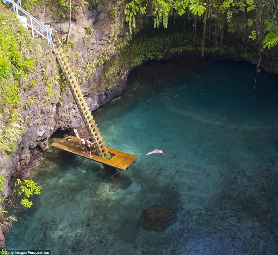Райские места с прозрачной водой