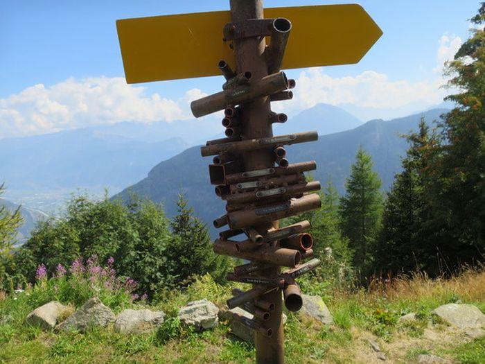 Устройство для поиска гор в Швейцарии