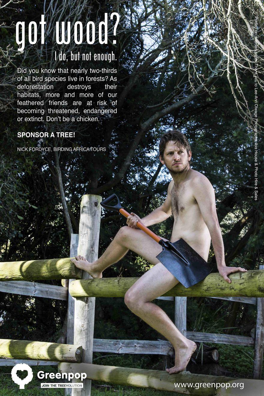 10 мужчин, которые заставят вас бросить все и немедленно начать сажать деревья