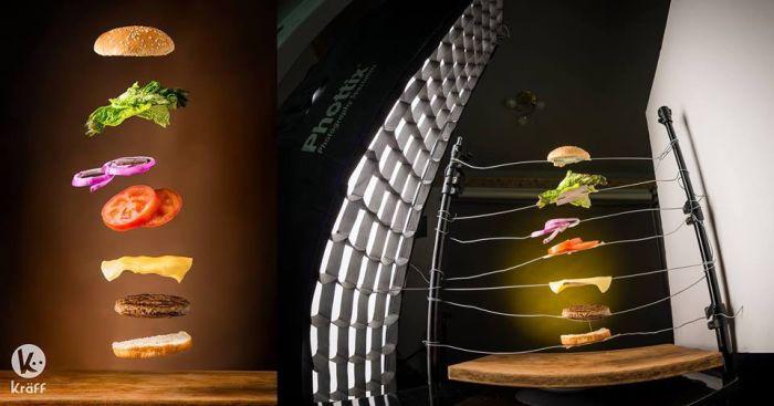 Как снимают моделей, вещи и еду для рекламы