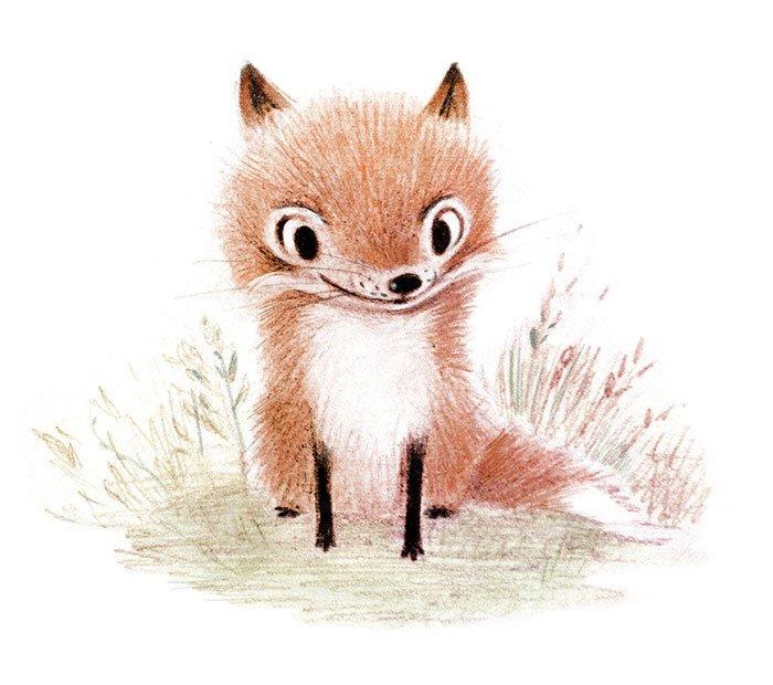 Очаровательные существа в иллюстрациях Сидни Хэнсон
