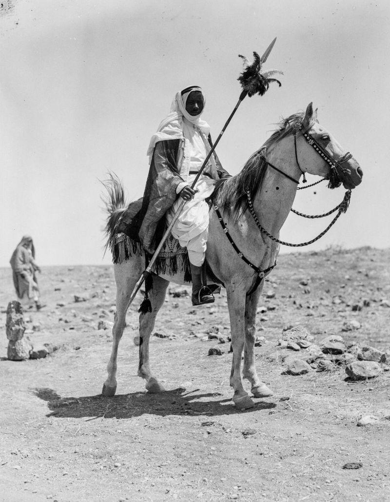 Пустынные кочевники Среднего Востока на фотографиях 1898 года