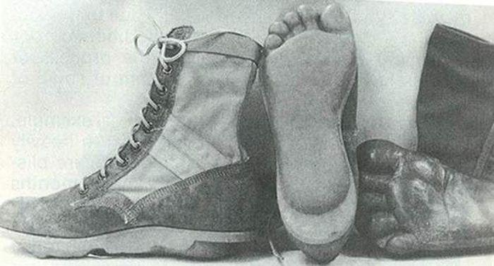 Ботинки американского спецназа в годы войны во Вьетнаме