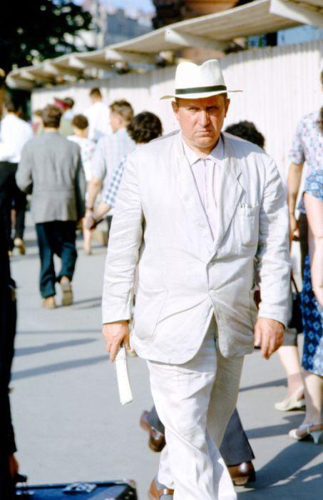 Фотографии советских граждан 1957 - 1964 годов