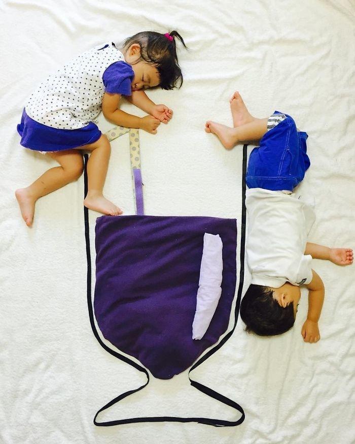 Двойняшки даже не догадываются о своих приключениях во время сна