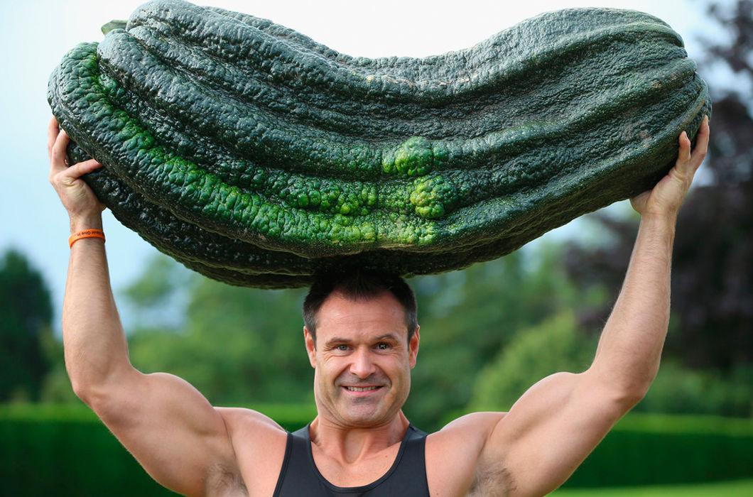 Интересные фото плодов-гигантов