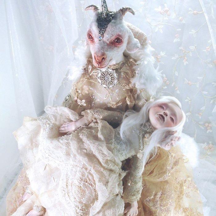 Сказочные существа от художницы из Испании