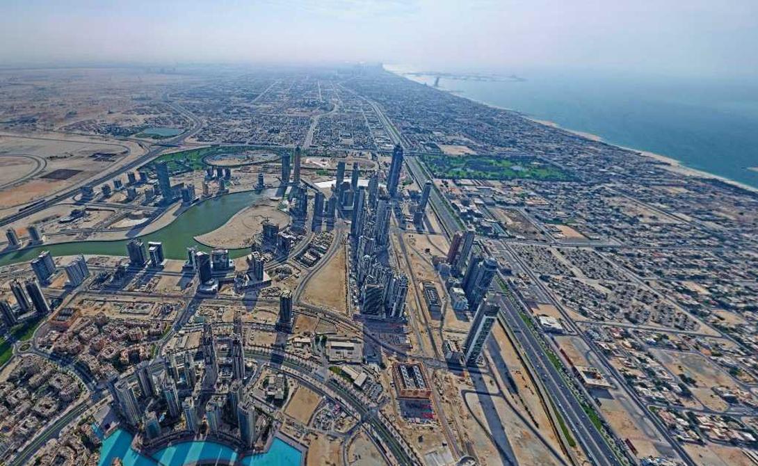 Виды с самых высоких зданий мира