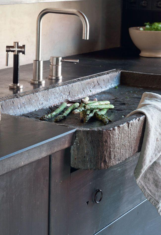 17 необычных и оригинальных кухонных раковин