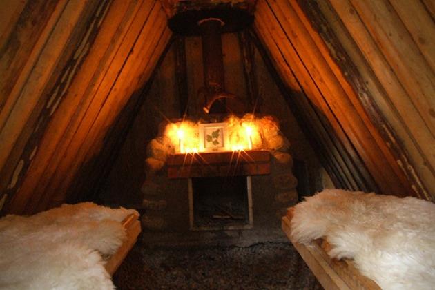 Дикий отель в лесах Швеции