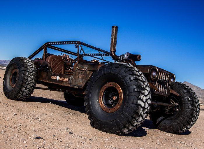 Постапокалиптический хот-род на базе Jeep Willy 1947 года