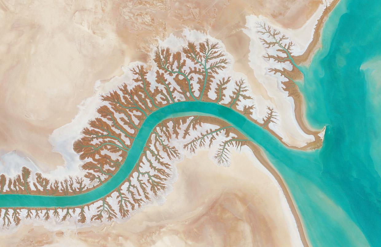 Удивительная красота нашей планеты с высоты