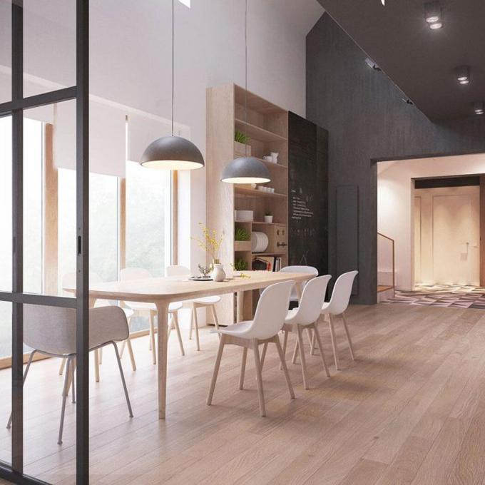 Двухэтажная резиденция в Минске