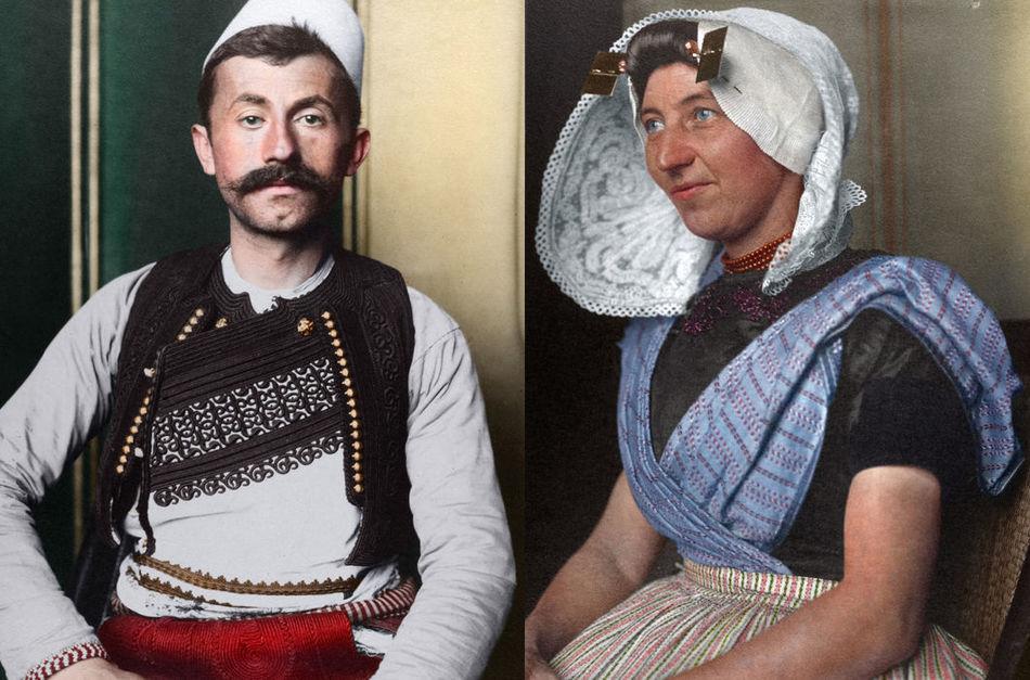 Портреты эмигрантов начала 20 века