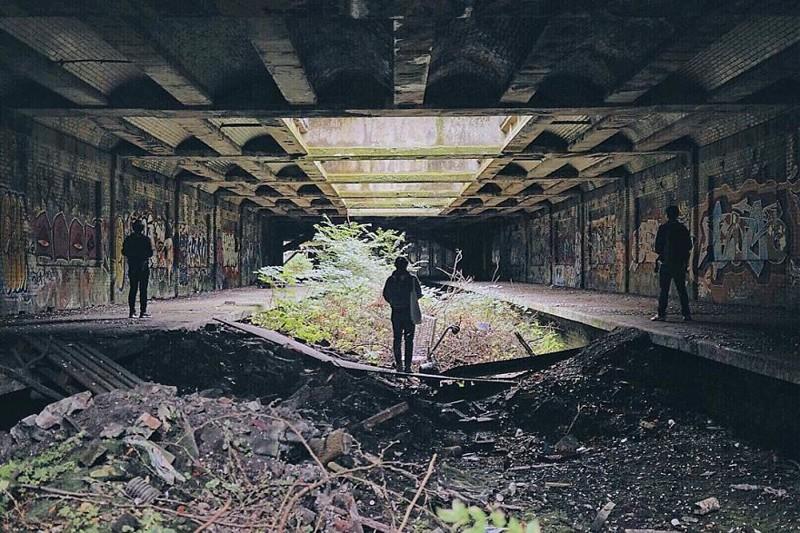Путешествие по заброшенным местам Великобритании