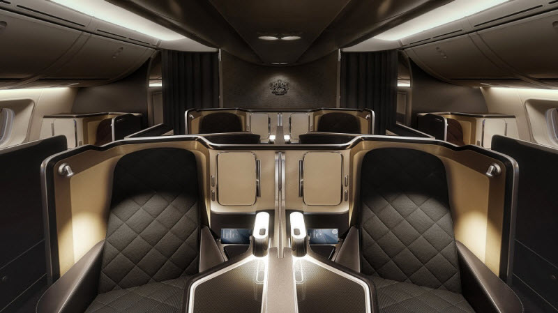7 самых шикарных кабин в самолете