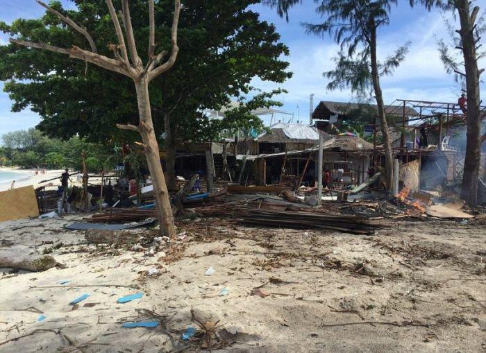 Британских туристов разочаровал отдых в Таиланде