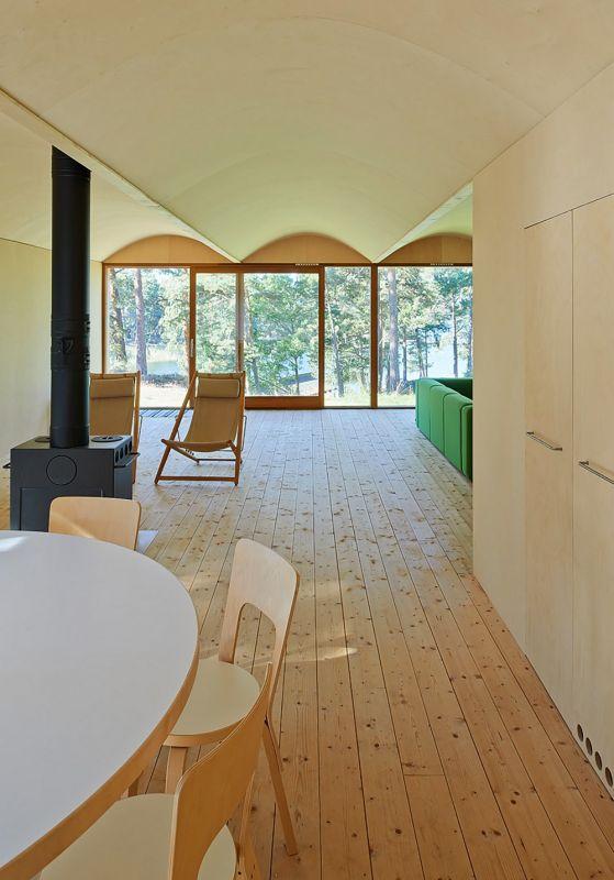 Дом с видом на море в Швеции