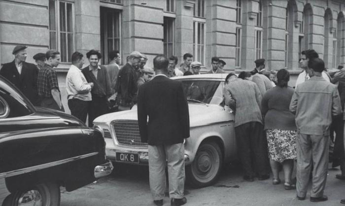 Колоритные фотографии Джерри Кука из путешествия по Советскому Союзу в 1960 году