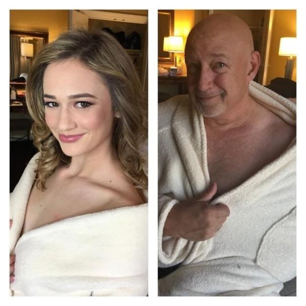 Отец затроллил фотосессию дочери-модели