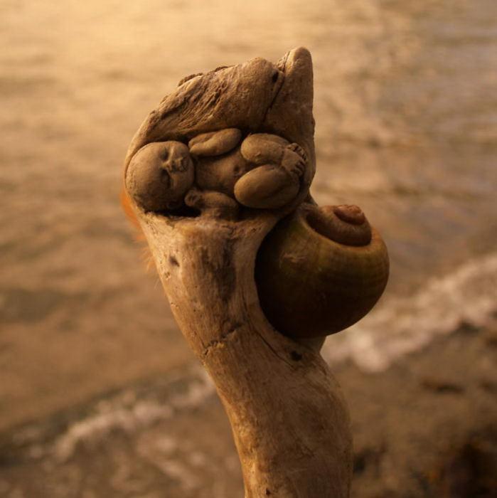 Потрясающие скульптуры из коряг дарят ощущение сказочного волшебства и чудес