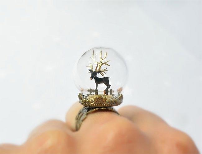 Крошечные миры внутри сказочных колец и подвесок