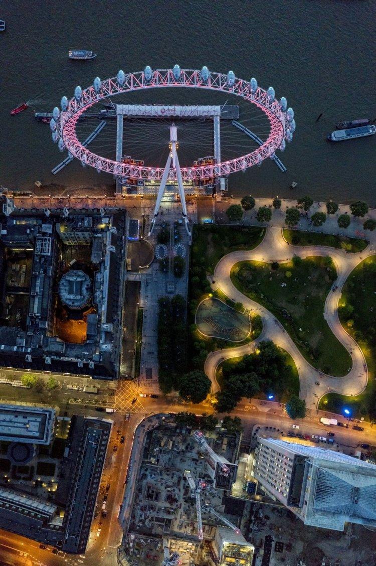 Лондон с высоты птичьего полета