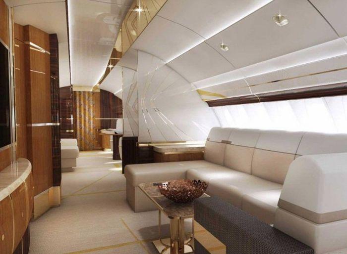 Роскошный воздушный дворец Boeing 747-8 VIP