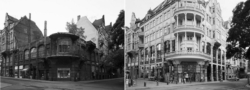 Восточная Германия до и после