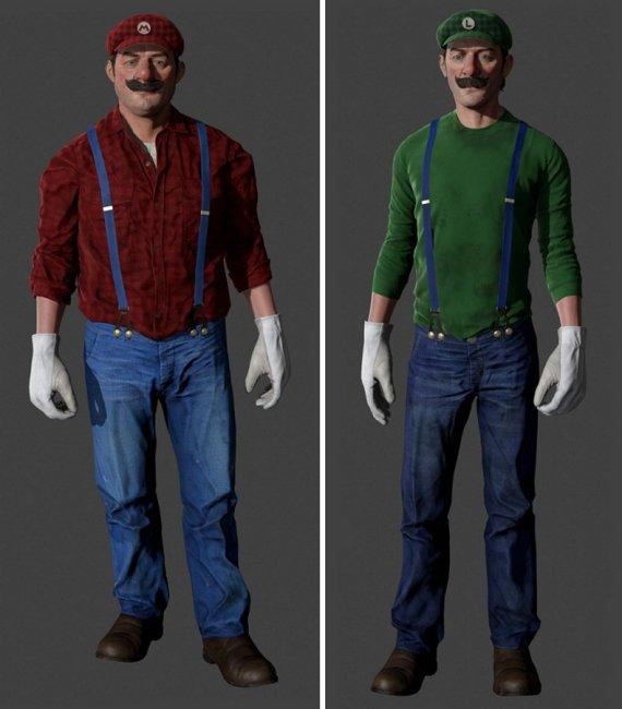 Знаменитые персонажи мультфильмов в 3D