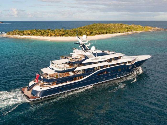 Solandge - одна из самых роскошных яхт мира