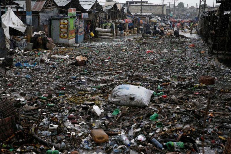 Последствия урагана Мэттью на Гаити